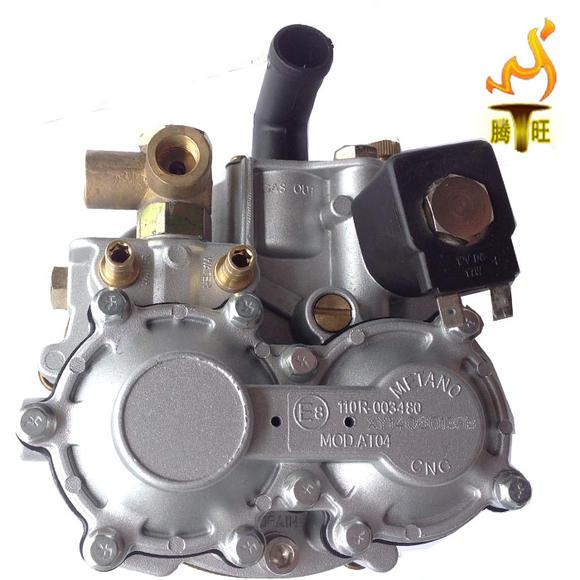 单点cng洛瓦托托马油改气汽车车用减压阀气阀天然气汽包图片