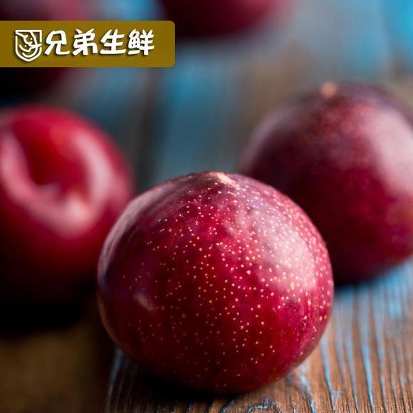 包邮 美国血钻杏李1盒约2斤 恐龙蛋 红布林新鲜水果