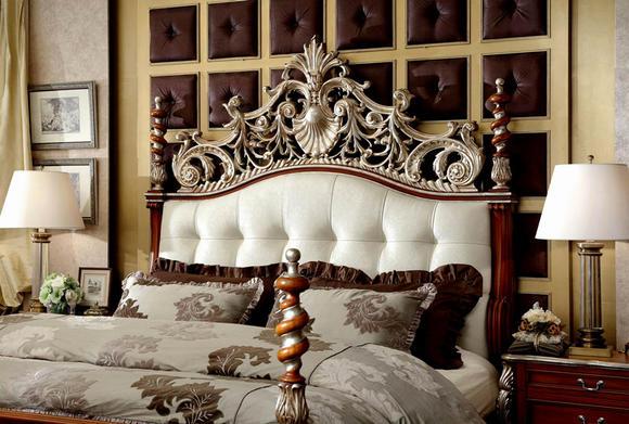 亚振家具 欧式床铺图片