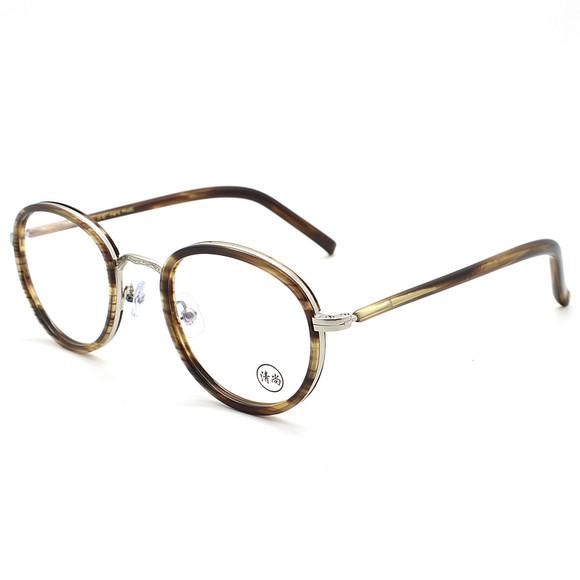 清尚/kinsole 香港设计师手工复古潮牌近视镜框眼镜架