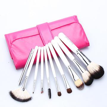 美丽工匠化妆刷套装专业10支动物毛彩妆刷化妆工具全套