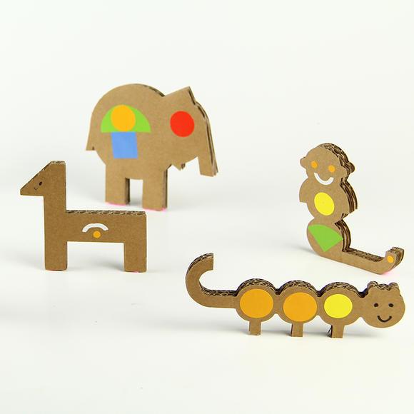 【童年智造】去动物园-亲子创意礼盒儿童手工制作