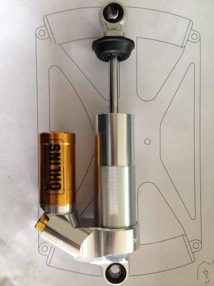 ohlins ttx25 减震器