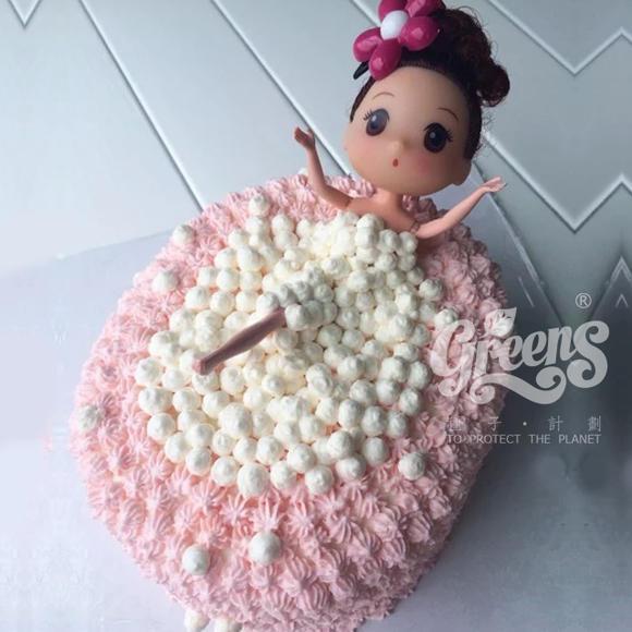 泡泡浴芭比娃娃蛋糕-bb001图片