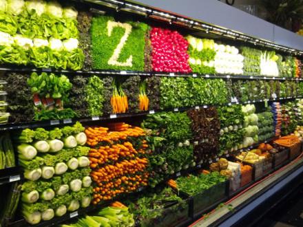 幼儿园区域墙面布置 蔬菜区