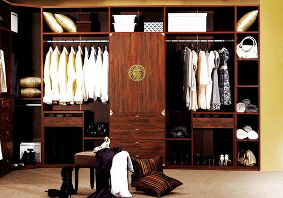 【定制】左尚明舍唐韵现代中式衣柜衣帽间整体衣柜