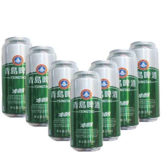 青岛啤酒罐装冰醇500ml