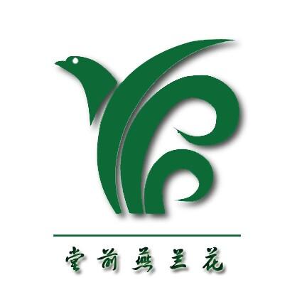 兰花手绘logo