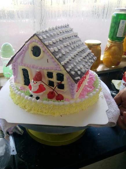 小房子 圣诞老人