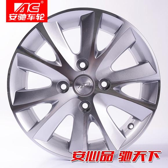 别克凯越轮毂15寸原款hrv轮毂14寸铁圈改装轮毂ac-1116,4孔114.