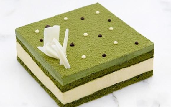 宇治抹茶慕斯蛋糕