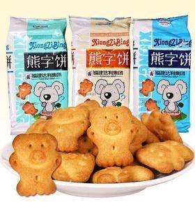 达利园熊字饼干字母饼干115g 达利小熊饼 儿童饼干 香酥脆甜熊仔