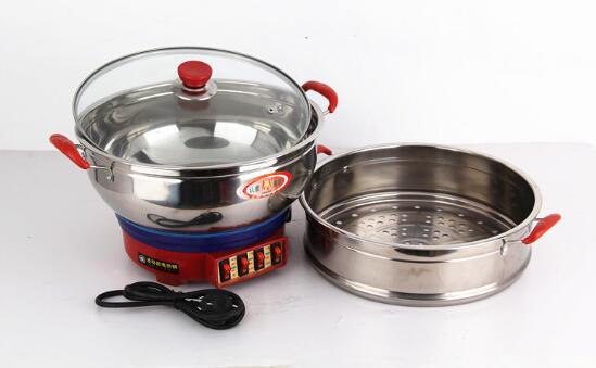 双层多用电热锅