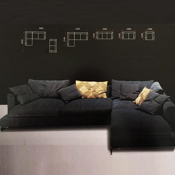 羽梵羽绒沙发