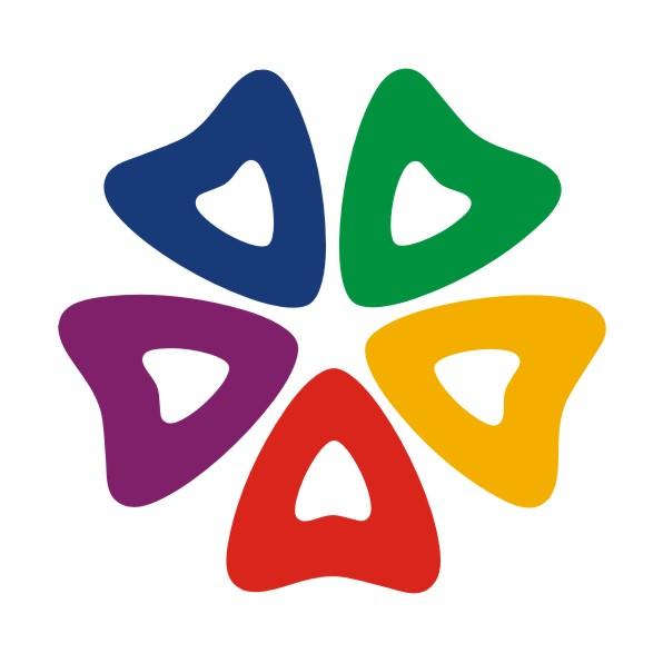 佛教莲花手绘logo