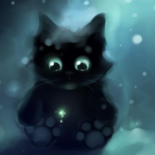 壁纸 动漫 动物 卡通 漫画 猫 猫咪 头像 小猫 桌面 640_640