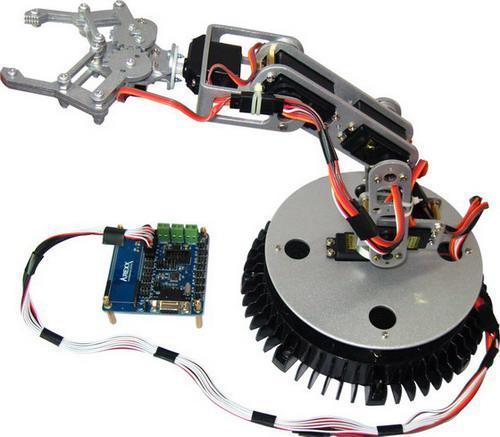六自由度工业机器人教学平台