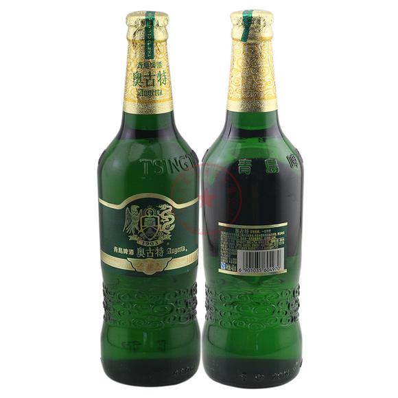 青岛啤酒 奥古特 1903 480ml*12/箱 (玻璃瓶,每个瓶盖