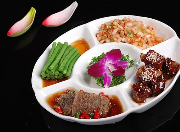 阳阳饺子店 凉菜拼盘图片