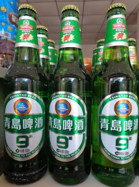 青岛啤酒1*9瓶