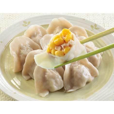 玉米水饺猪肉金针菇怎么洗了还能存放吗图片