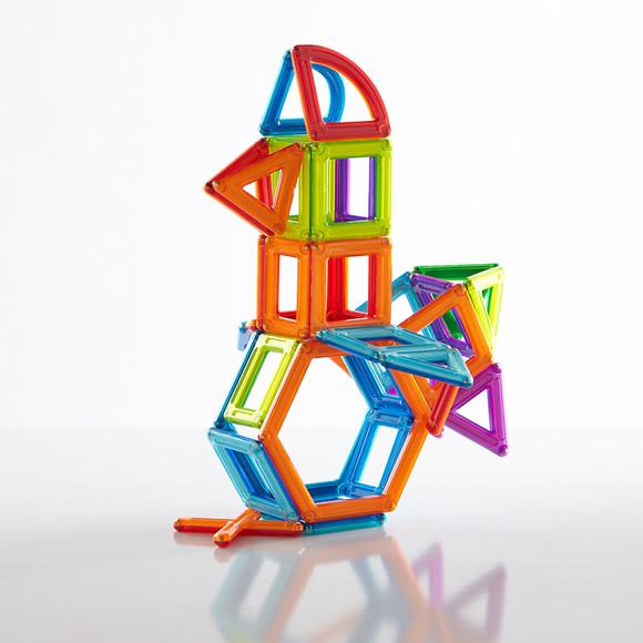 柯天 磁铁积木 磁力片 拼装建构搭建玩具 框架系列 48