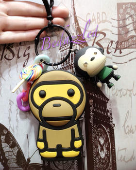 超萌可爱卡通猴子充电宝