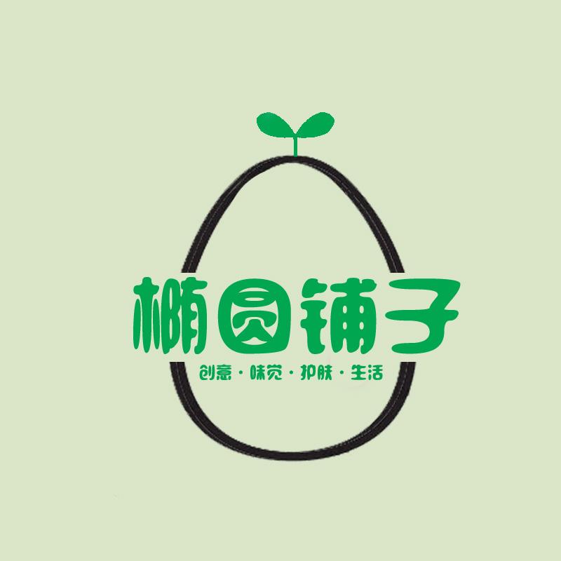 椭圆logo 手绘