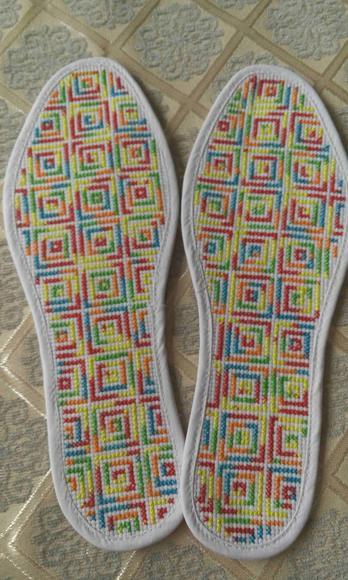 实用鞋垫图案简单