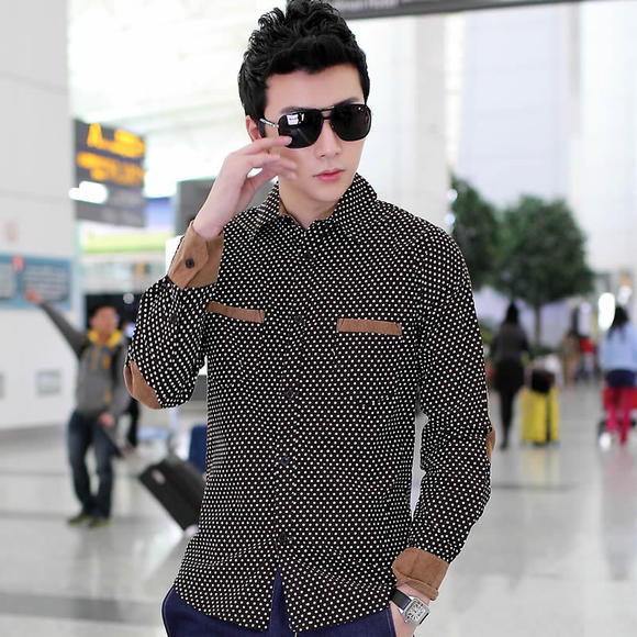 男士v领秊(hzx���_【恒优】 男式新款衬衫hzxf511113