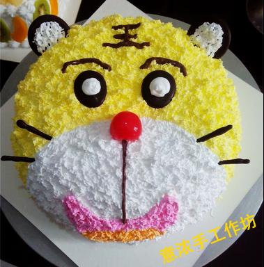 小动物蛋糕 武汉创意蛋糕生日蛋糕定制
