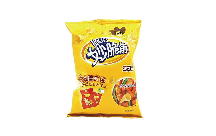 妙脆角香浓辣辣鸡味65g