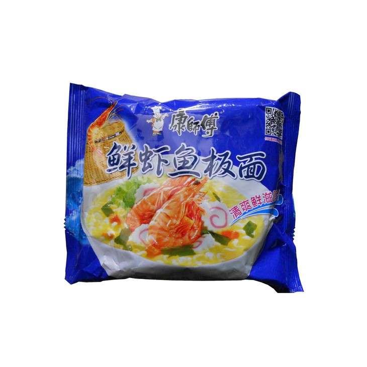 康师傅鲜虾鱼板面 袋装方便面