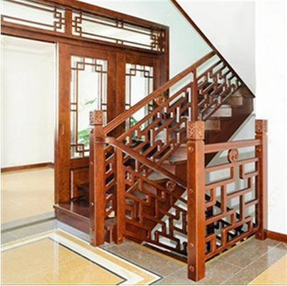 12步楼梯含2条大柱含单边扶手含立板 购物岛微商城