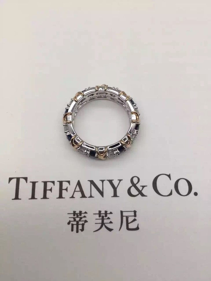 tiffany & co. schlumberger sixteen stone 戒指