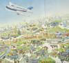 【手绘广州地图】新版升级加大,一张值得收藏的广州独特风情画,附送超值大礼包。 商品缩略图4