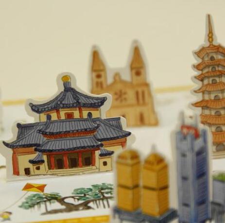 【手绘广州地图】新版升级加大,一张值得收藏的广州独特风情画,附送超值大礼包。 商品图3