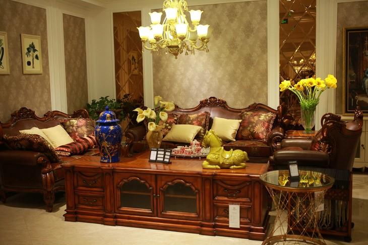 巴里巴特系列 客厅 沙发 电视柜 茶几