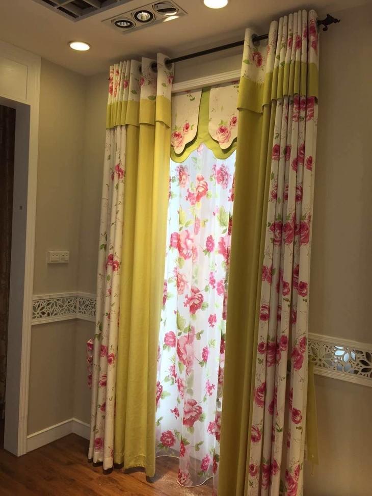 韩式田园风格窗帘 2015最新款式窗帘