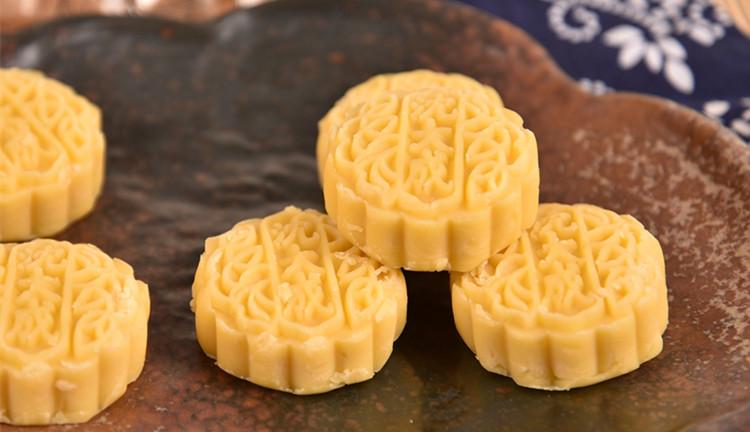 上海老味道正品美食中华老字号 特产 沈大成糕点绿豆酥 全国配送