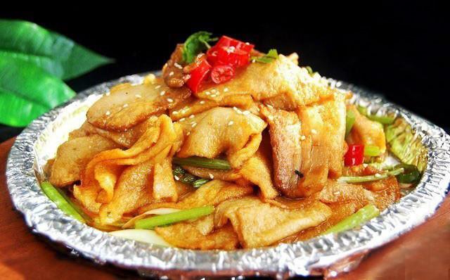 红烧千叶豆腐图片