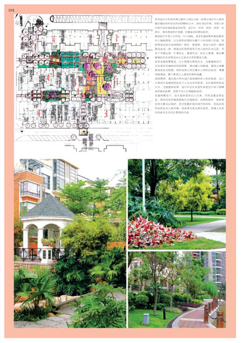 欧式现代风格的庭院平面图