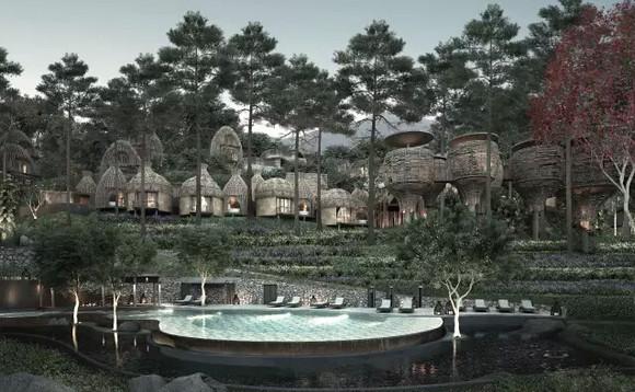 每间别墅均标配私人泳池