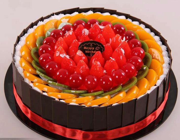欧式水果蛋糕价格尺寸对照表 蛋糕尺寸 6 寸 8 寸 10 寸 蛋糕直径 15