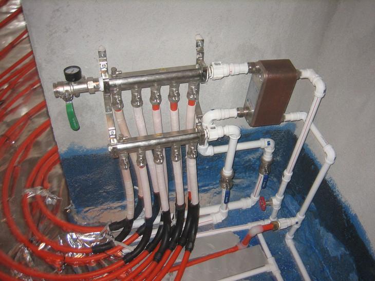 地暖机械线控器接线图
