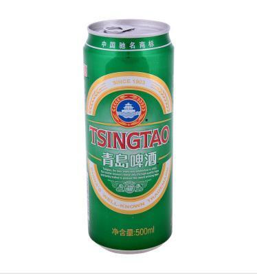 青岛啤酒500ml(罐装)