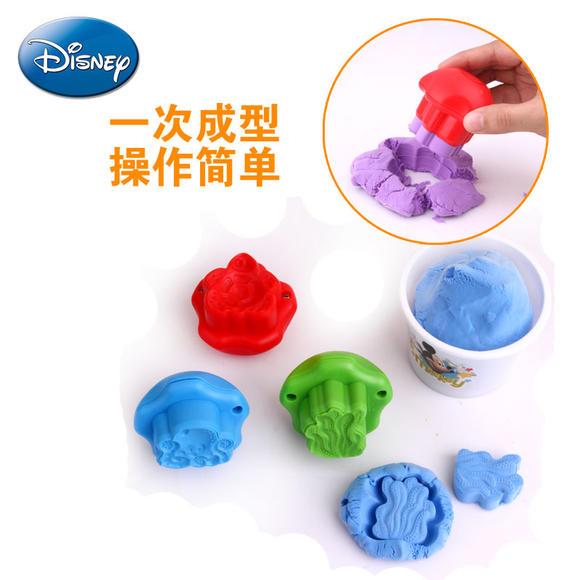 迪士尼3d打印泥 海底世界3d打印机彩泥橡皮泥超轻粘土