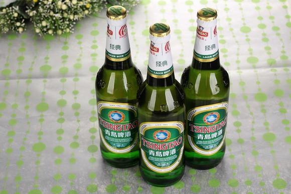 青岛啤酒经典8度600ml*12瓶