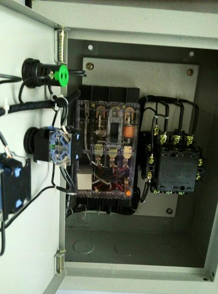 5kw三相电机启停控制箱