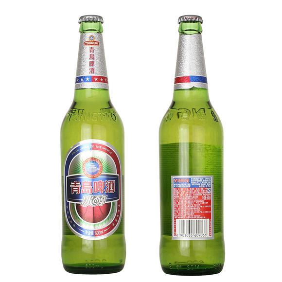青岛 啤酒冰醇600ml